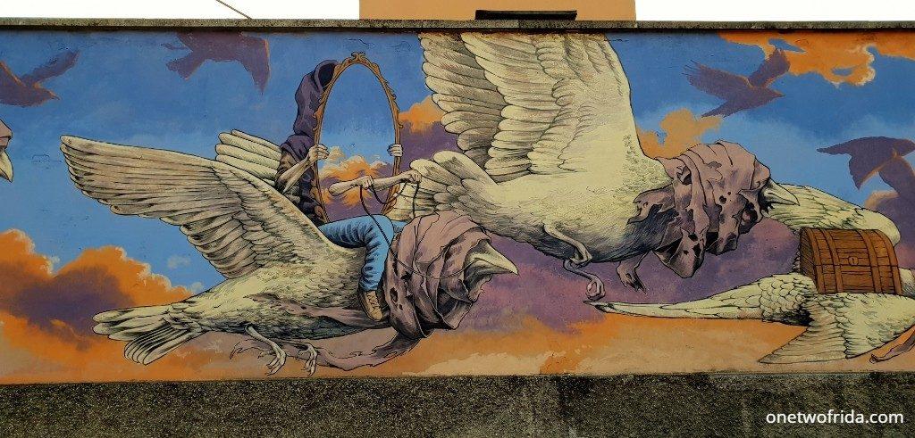 Darsena e street art a Ravenna