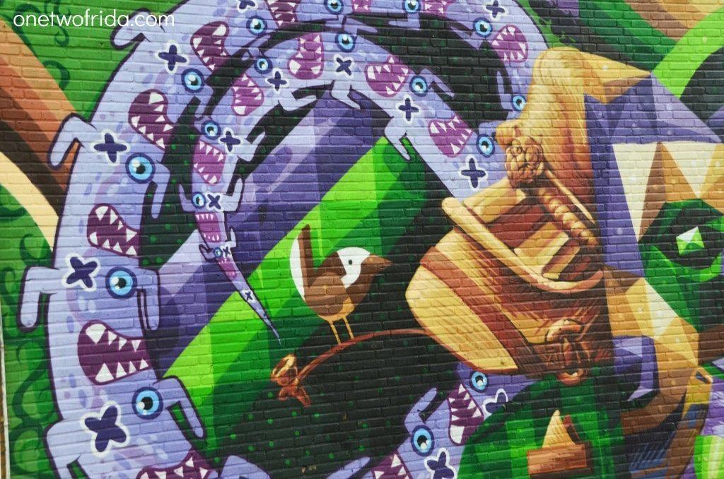 Street art di Rotterdam