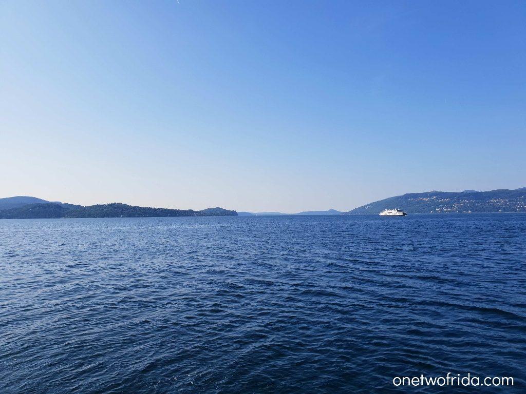 Battello sul Lago Maggiore