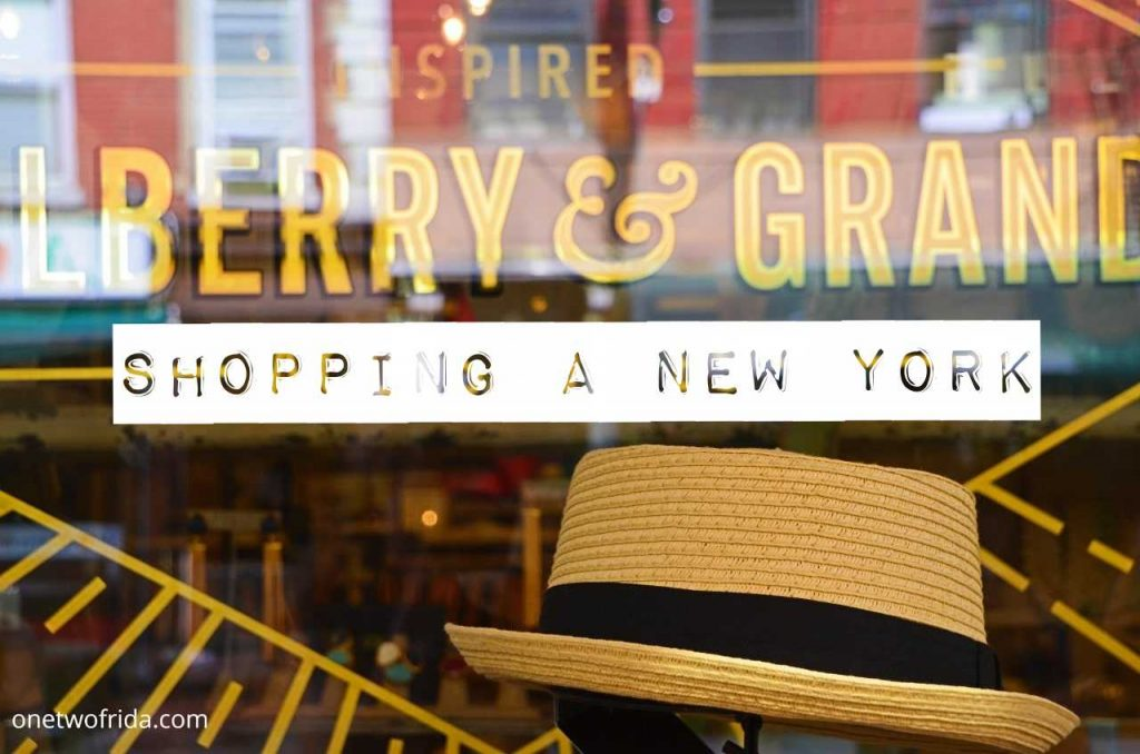 Cosa comprare a New York e dove fare shopping