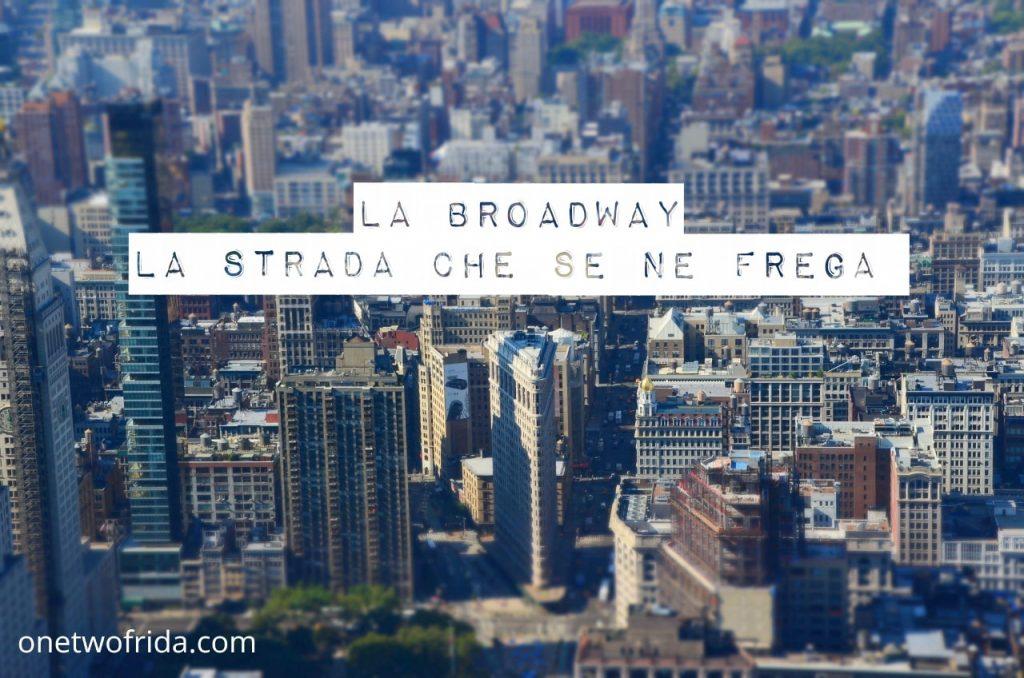 La Broadway a Manhattan