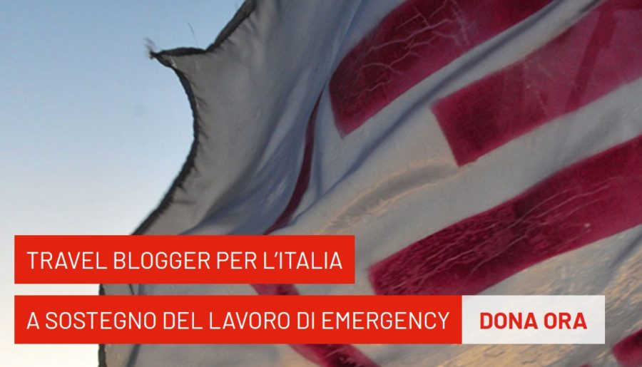 Travel blogger per l'Italia: raccolta fondi per Emergency