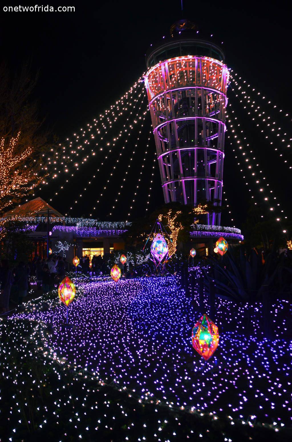 Il festival delle luci invernali di enoshima