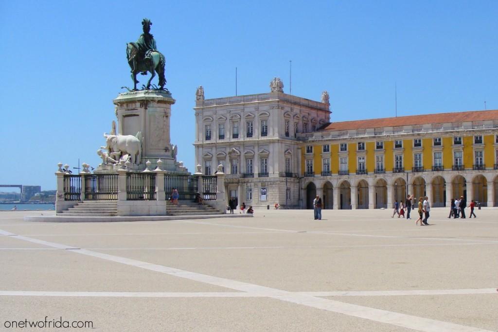 Praça do Comércio/Terreiro do Paço - Lisbona