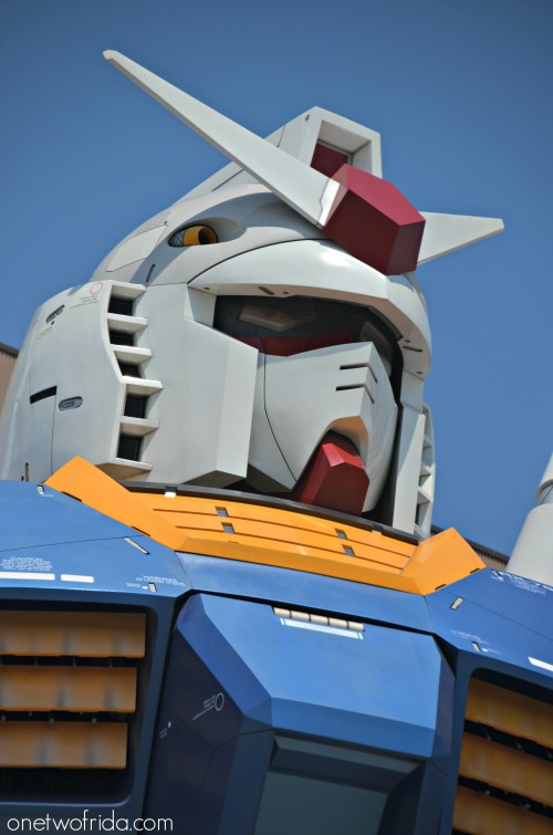 Gundam testa